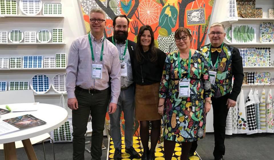 Everstyle samarbete Stig Lindberg mönsterdesign konstkakel fotokakel designkakel kakel inredning inspiration Ambiente Messe Frankfurt 2019